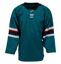 San Jose Sharks MonkeySports Uncrested Junior Hockey Jersey