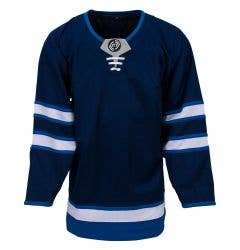 Winnipeg Jets MonkeySports Uncrested Adult Hockey Jersey