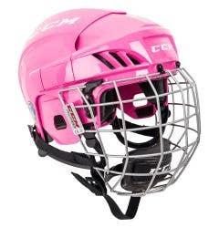 CCM FitLite 40 Junior Hockey Helmet Combo