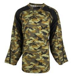 MonkeySports 20P Premium Youth Camo Practice Hockey Jersey