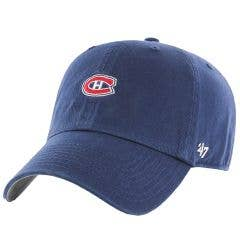 Montreal Canadiens Old Time Hockey Base Runner Clean Up Adjustable Cap
