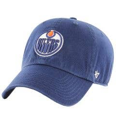 Edmonton Oilers Old Time Hockey Clean Up Adjustable Cap