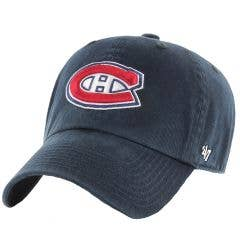 Montreal Canadiens Old Time Hockey Clean Up Adjustable Cap