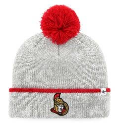 Ottawa Senators Old Time Hockey Fairbanks Knit Pom Beanie