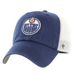 Edmonton Oilers Old Time Hockey Hill Closer Flex Cap