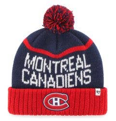 Montreal Canadiens Old Time Hockey Linesman Pom Beanie