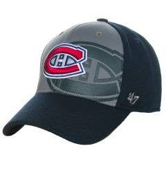 Montreal Canadiens Old Time Hockey Off-Tackle Contender Flex Cap