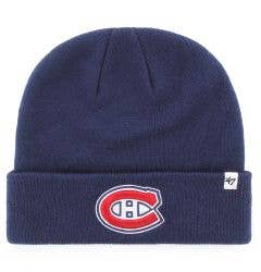 Montreal Canadiens Old Time Hockey Raised Knit Beanie
