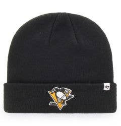 Pittsburgh Penguins Old Time Hockey Raised Knit Beanie