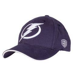 Tampa Bay Lightning Old Time Hockey Raised Replica Adjustable Cap