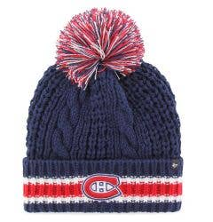 Montreal Canadiens Old Time Hockey Sorority Knit Pom Beanie