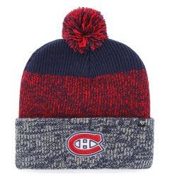 Montreal Canadiens Old Time Hockey Static Knit Pom Beanie