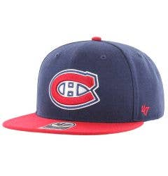 Montreal Canadiens Old Time Hockey Sure Shot Snapback Cap
