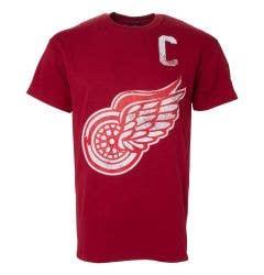 Detroit Red Wings Old Time Hockey Alumni Men's Short Sleeve Shirt - Howe