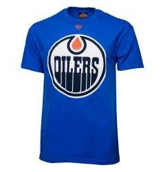 Edmonton Oilers Old Time Hockey NHL Onside Youth Short Sleeve Shirt