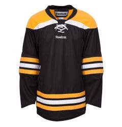 Boston Bruins Reebok Edge Uncrested Adult Hockey Jersey