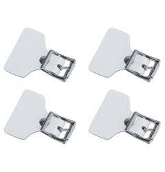 Reebok Replacement Buckle Strap Tab - 4 Pack