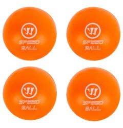 Warrior Mini Hockey Speed Ball - 4 Pack - '18 Model
