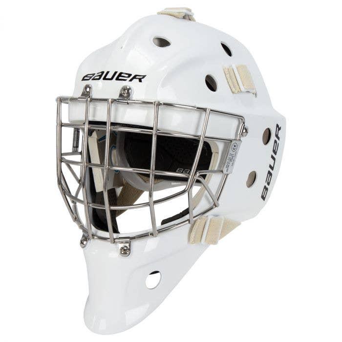 Bauer 940 Certified Straight Bar Goalie Mask