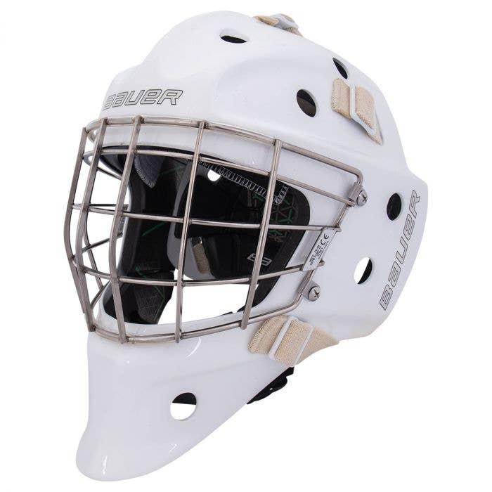 Bauer NME VTX Certified Straight Bar Goalie Mask