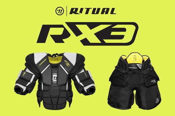 Warrior Ritual X3 Goalie Equipment